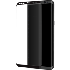 Case Advanced Curved Edge-to-Edge Tempered Glass Screen Protector for Samsung Galaxy S8, Black