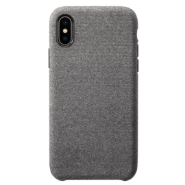 Fabric Case for Apple iPhone X/XS, Gunnel Grey