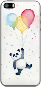 Case Panda with Balloons by Olechka