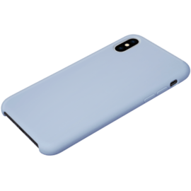Soft gel silicone case for Apple iPhone X/XS, Lilac Blue