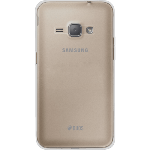 Case Silicone Case for Samsung Galaxy J1 (2016) , Transparent