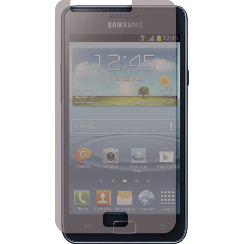 Case Screen protector for Samsung Galaxy S II, Privacy