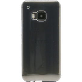 Case Coque silicone pour HTC One M9, Gris Transparent