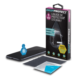 NanoProtect+ DropProtect Liquid Screen Protector for smartphones/ tablets/ smartwatches (1 dose)