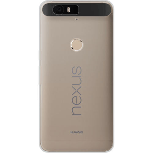 Case Coque silicone pour Huawei Nexus 6P, Transparent