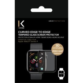 Curved Edge-to-Edge Tempered Glass Screen Protector for Apple Watch® Series 4 44mm
