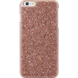 Case Coque Bling Strass pour Apple iPhone 6 Plus/6s Plus, Or Rose