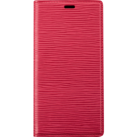 Diarycase 2.0 Genuine Leather flip case with magnetic stand for Apple iPhone 11 Pro, Maroon Red