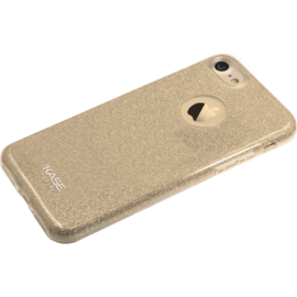 Custodia sottile scintillante Glitter per Apple iPhone 7, Gold