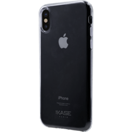 Coque ultra slim invisible pour Apple iPhone X/XS 0,75mm, Transparent
