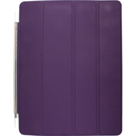 Smart Cover for Apple iPad 2/3/4, Purple