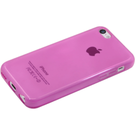 Invisible Slim Case for Apple iPhone 5c 1.2mm, Transparent Pink