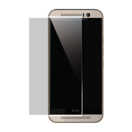 Case Protection d'écran en verre trempé pour HTC One M9, Transparent
