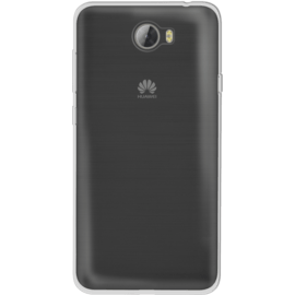 Case Invisible Silicone Case for Huawei Y5 II 1.2mm, Transparent