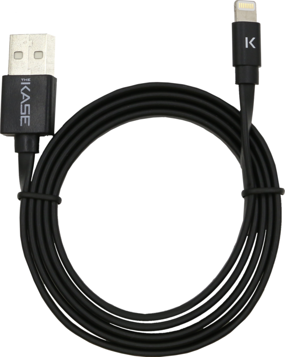Case Apple MFi certified Lightning Charge/Sync Cable (1M) Cool Black