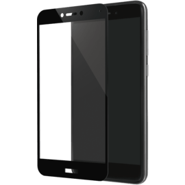 Full Coverage Tempered Glass Screen Protector for Huawei P8 Lite (2017), Black