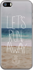 Case Let's Run Away: to the beach! by Leah Flores