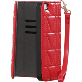Custodia imbottita Karl Lagerfeld Kuilted per Apple iPhone 6/6s, rossa