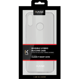 Coque hybride invisible pour Huawei P Smart 2019, Transparent