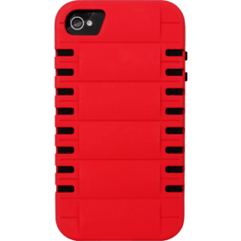 Case Case for Apple iPhone 4/4S, Red Rebound Anti-shock