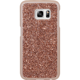 Case Rhinestone Bling case for Samsung Galaxy S6 Edge, Rose Gold