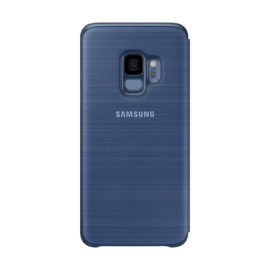 LED View cover Bleu Galaxy S9