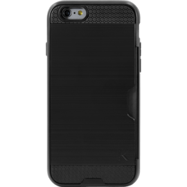 Case Anti-shock credit card case for Apple iPhone 6/6s, Black