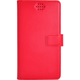 Case Universal flip case for Smartphone (up to 3.5 inch), Lipstick Red