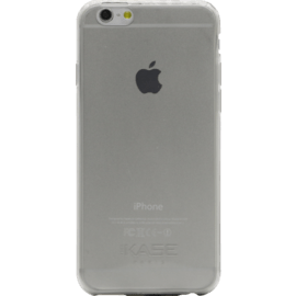 Case Invisible Ultra Slim Silicone Case for Apple iPhone 6/6s 0.6mm, Transparent Grey