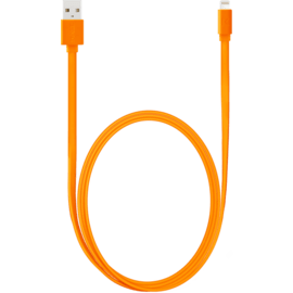 Apple MFi certified Lightning Charge/Sync Cable (1M), Vibrant Orange