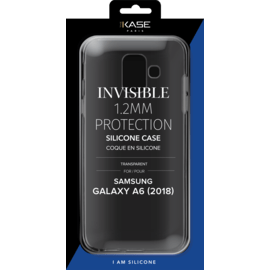 Invisible Slim Case for Samsung Galaxy A6+ (2018) 1.2mm, Transparent