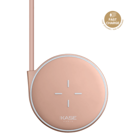 Universal Quick Charge Qi Wireless Charging Pad (7.5W/10W), Rose Gold