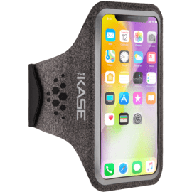 Dynamics Ultra Slim Sport Armband for Apple iPhone XS/X/8/7/6S/6, Grey
