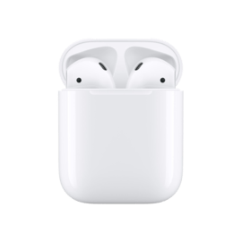 AirPods 2 - avec le boitier de recharge sans fil - bluetooth earphone white