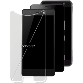 Case Universal Premium Tempered Glass Screen Protector (5.1-5.3 inch)