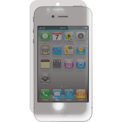 Case Screen protector for Apple iPhone 4/4S, Mirror