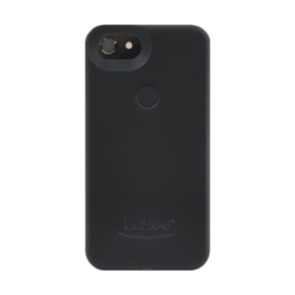 Case LuMee two iPhone 7 Plus / 6S Plus / 6 Plus, Noir Mat