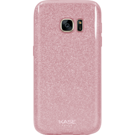 Case Sparkly Glitter Slim Case for Samsung Galaxy S7, Rose gold