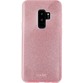 Sparkly Glitter Slim Case for Samsung Galaxy S9+, Rose Gold