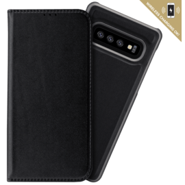 2-in-1 GEN 2.0 Magnetic Slim Wallet & Case for Samsung Galaxy S10, Black