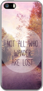 Case not all who wander are lost by Sylvia Cook Photography