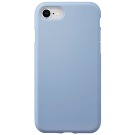 Anti-Shock Soft Gel Silicone Case for Apple iPhone 7/8, Lilac Blue