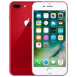 iPhone 7 Plus 256 Go - Rouge - Grade Silver