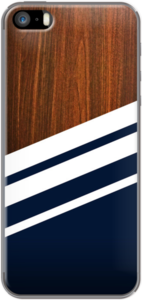 Case Wooden Navy by NG Design