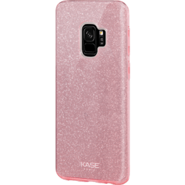 Sparkly Glitter Slim Case for Samsung Galaxy S9, Rose Gold