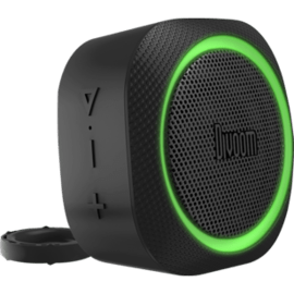 Airbeat-30 Portable Bluetooth speaker with speakerphone, Black