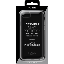 Invisible Slim Case for Apple iPhone 6/6S/7/8 1.2mm, Transparent