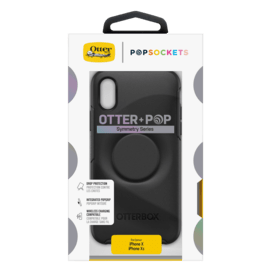 Otter+Pop Symmetry series Coque pour Apple iPhone X/XS, Noir