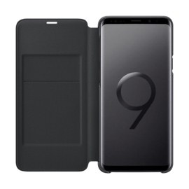 LED View cover Black Galaxy S9+