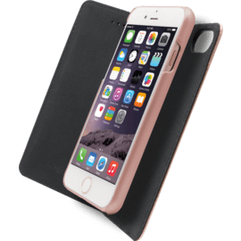 2-in-1 Magnetic Slim Wallet & Case for Apple iPhone 6/6s/7/8, Rose Gold